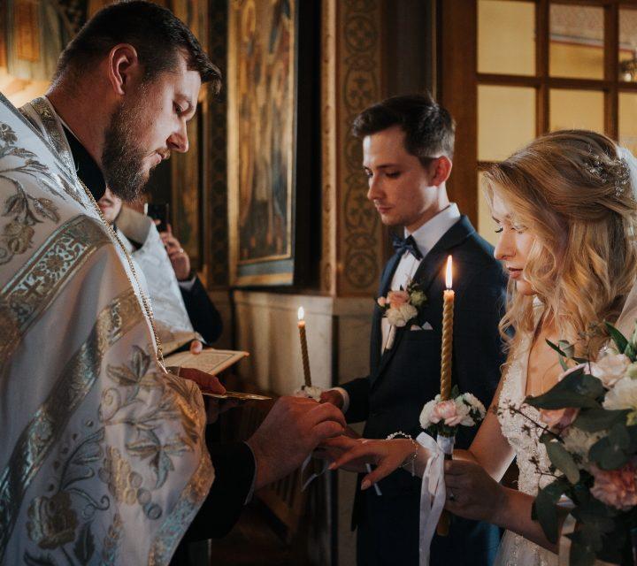 Ślub prawosławny w cerkwi - Ewelina & Paweł